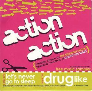 Cover - Action Action: Let's Never Go To Sleep / Drug Like
