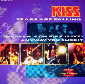 KISS: Tears Are Falling - Cover