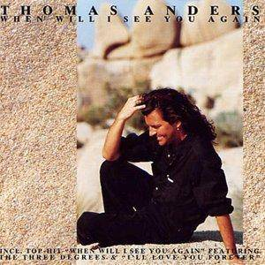 Cover - Thomas Anders: When Will I See You Again