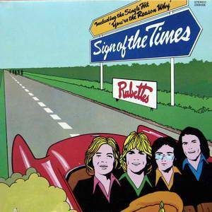 Cover - Rubettes, The: Sign Of The Times
