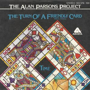 The Alan Parsons Project: Turn Of A Friendly Card, The - Cover