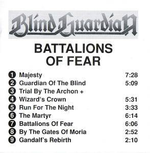 Blind Guardian: Battalions Of Fear (CD) - Bild 2