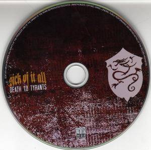 Sick Of It All: Death To Tyrants (CD) - Bild 3