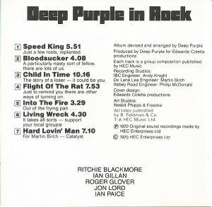 Deep Purple: Deep Purple In Rock (CD) - Bild 5