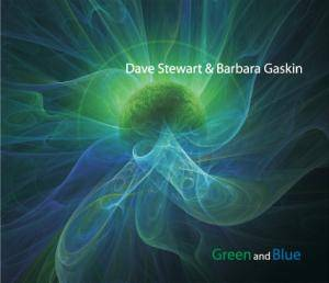Cover - Dave Stewart & Barbara Gaskin: Green And Blue