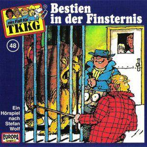 TKKG: (048) Bestien In Der Finsternis - Cover