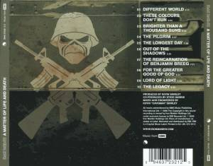 Iron Maiden: A Matter Of Life And Death (CD) - Bild 3