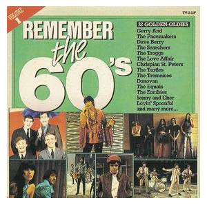 Remember The 60's - Volume 1 - Cover
