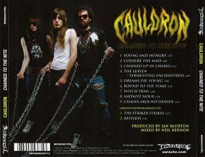 Cauldron: Chained To The Nite (CD + Single-CD) - Bild 2