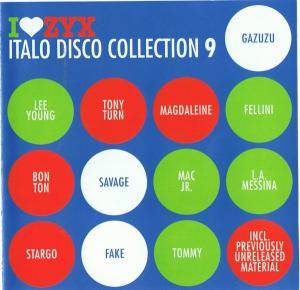 I Love Zyx Italo Disco Collection 09 - Cover