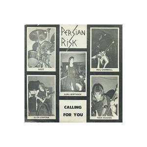 Persian Risk: Calling For You - Cover