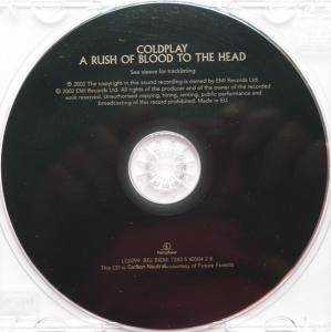 Coldplay: A Rush Of Blood To The Head (CD) - Bild 3