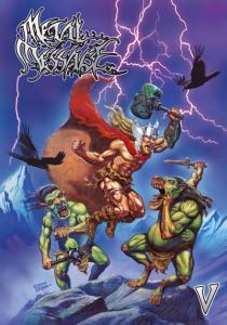 Metal Message - Vol. 5 - Cover