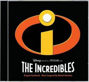 Cover - Michael Giacchino: Incredibles, The