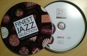 Finest Jazz Selection - Sweet As Chocolate - Cover