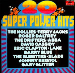 Cover - David Cassidy: 20 Super Power Hits