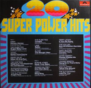 20 Super Power Hits Lp 1974 Special Edition