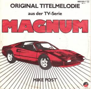 Cover - Mike Post: Theme From Magnum P.I.