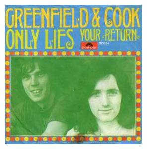 Cover - Greenfield And Cook: Only Lies