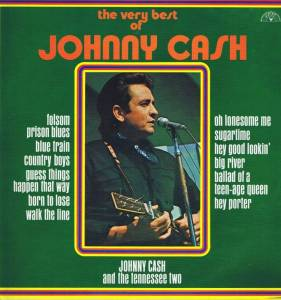 Johnny Cash And The Tennessee Two: Very Best Of Johnny Cash, The - Cover