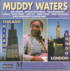 Muddy Waters: Chicago-London - Cover