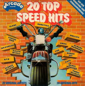 Cover - Linda & The Funky Boys: 20 Top Speed Hits