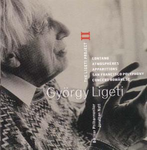 György Ligeti: Ligeti Project II, The - Cover
