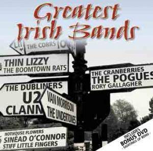 Greatest Irish Bands - Cover