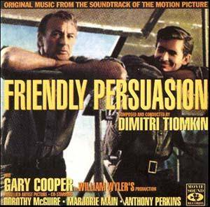 Cover - Dimitri Tiomkin: Friendly Persuasion
