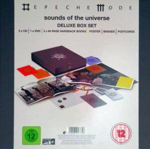 Depeche Mode: Sounds Of The Universe (3-CD + DVD) - Bild 2