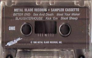 Metal Blade Records - Sampler Cassette - Cover