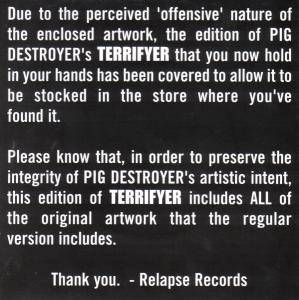 Pig Destroyer: Terrifyer (CD + DVD-Audio) - Bild 2