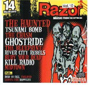 Metal Hammer: Razor: Music From The Cutting Edge Vol. 10 - Cover