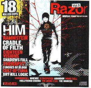 Cover - Abandon: Metal Hammer: Razor: Music From The Cutting Edge Vol. 9