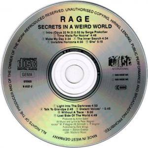Rage: Secrets In A Weird World (CD) - Bild 2