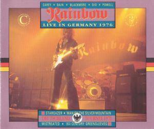 Rainbow: Live In Germany 1976 - Cover