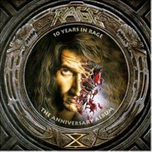 Rage: 10 Years In Rage - The Anniversary Album - Cover