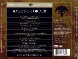 Queensrÿche: Rage For Order (CD) - Bild 2