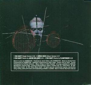 Rammstein: Du Hast (Single-CD) - Bild 2