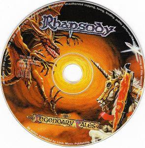 Rhapsody: Legendary Tales (CD) - Bild 4