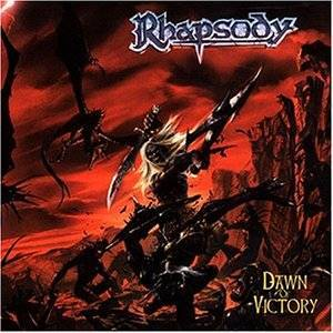 Rhapsody: Dawn Of Victory - Cover
