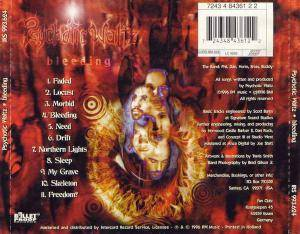 Psychotic Waltz: Bleeding (CD) - Bild 2