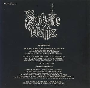 Psychotic Waltz: A Social Grace (CD) - Bild 2