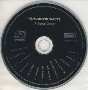 Psychotic Waltz: A Social Grace (CD) - Bild 4
