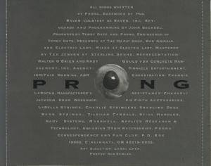 Prong: Cleansing (CD) - Bild 4