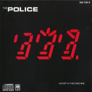 The Police: Ghost In The Machine - Cover