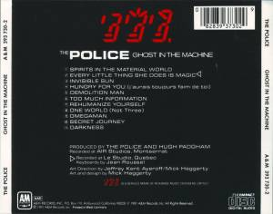 The Police: Ghost In The Machine (CD) - Bild 3
