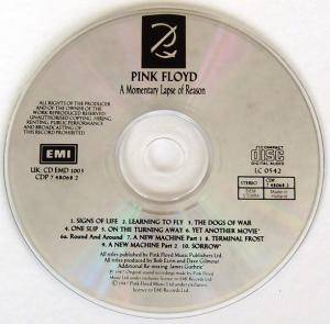 Pink Floyd: A Momentary Lapse Of Reason (CD) - Bild 4
