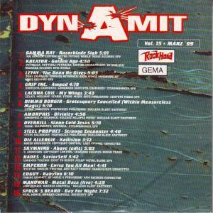 Rock Hard - Dynamit Vol. 15 (CD) - Bild 2