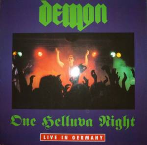 Demon: One Helluva Night - Live In Germany - Cover